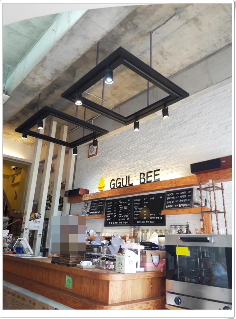 전주대 평생교육원 근처, 꿀비 카페, 꿀비 팥빙수, 수제 빙수 맛