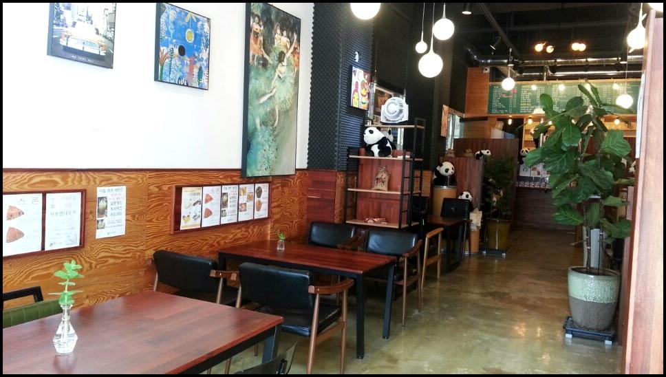 전주혁신도시 카페, 전주혁신도시 커피 팬커피, 커피마시는 팬 커피에서 유명한 천연 자몽쥬스